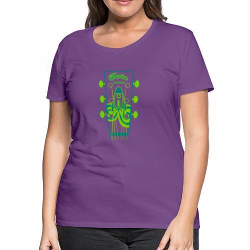 Martian Monster - Women's Premium T-Shirt