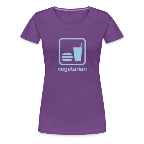 Vegetarian Food - Women's Premium T-Shirt
