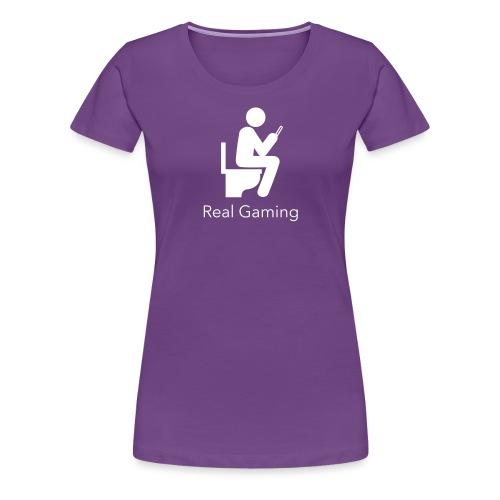 Real Gaming - Women's Premium T-Shirt