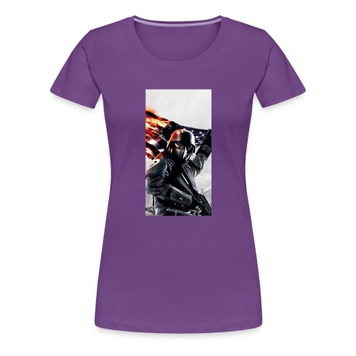 Tanker phone case - Women's Premium T-Shirt