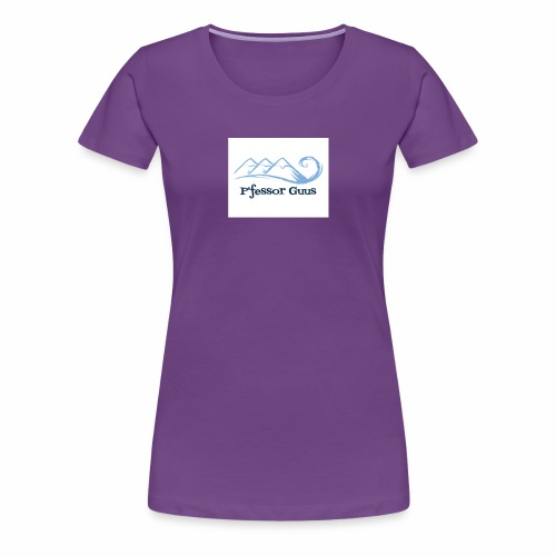 Pfessor Guus Mountains & Waves - Women's Premium T-Shirt