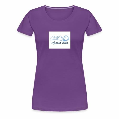 Pfessor Guus Mountains & Waves - Women's Premium T-Shirt
