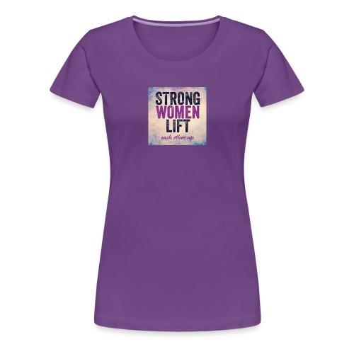 strong women - Women's Premium T-Shirt