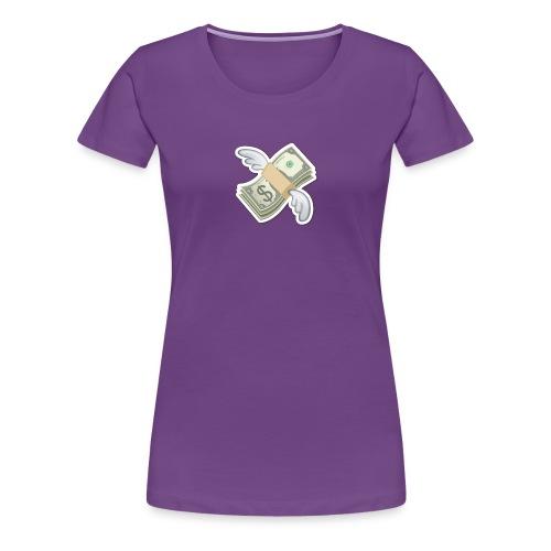 Money With Wings - Women's Premium T-Shirt