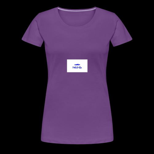 Blue 94th mile - Women's Premium T-Shirt