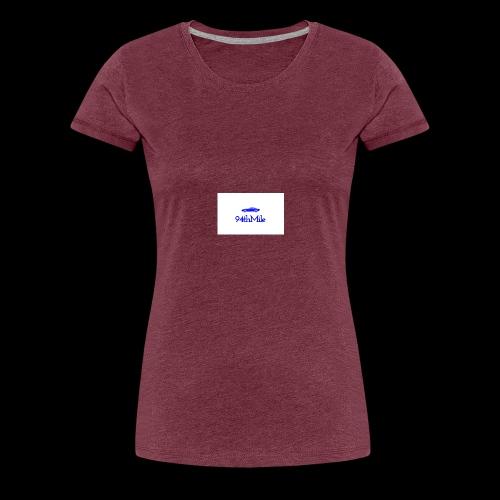 Blue 94th mile - Women's Premium T-Shirt