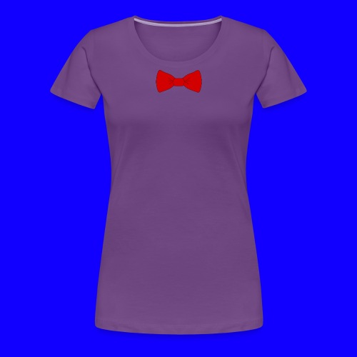 red bow tie - Women's Premium T-Shirt