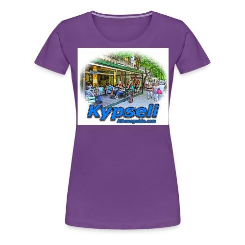 Kypseli fokionos jpg - Women's Premium T-Shirt