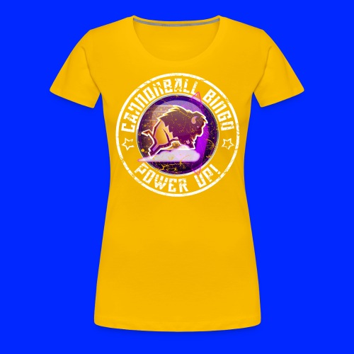 Vintage Stampede Power-Up Tee - Women's Premium T-Shirt