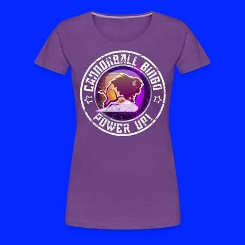 Vintage Stampede Power-Up Tee - Women's Premium T-Shirt