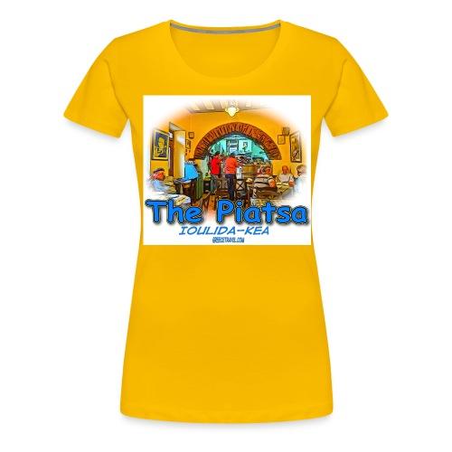 Kea Piatsa 2 jpg - Women's Premium T-Shirt