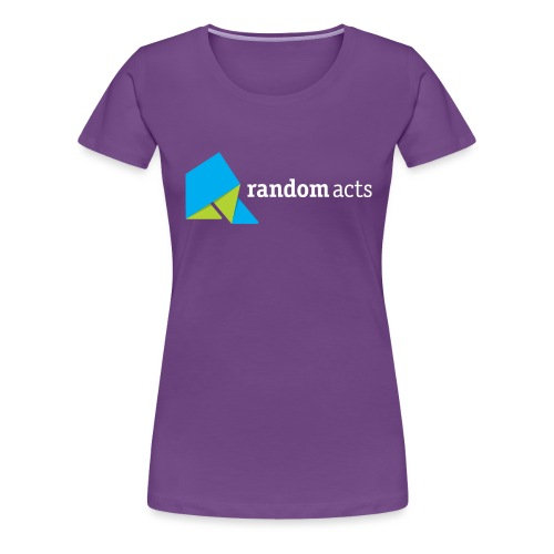 RA LOGO White text - Women's Premium T-Shirt