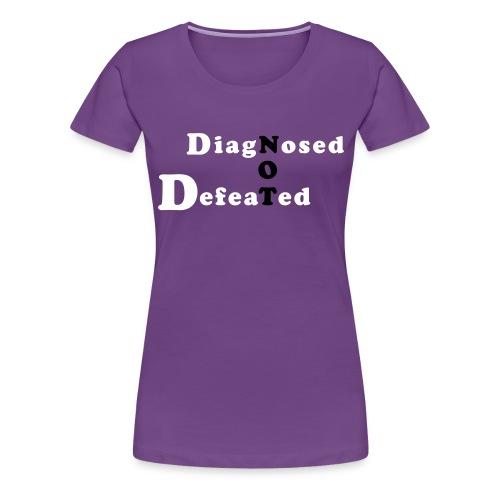not defeatednourl - Women's Premium T-Shirt
