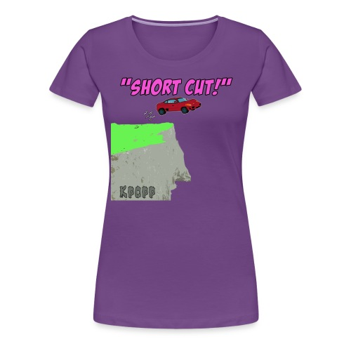 shortcut - Women's Premium T-Shirt
