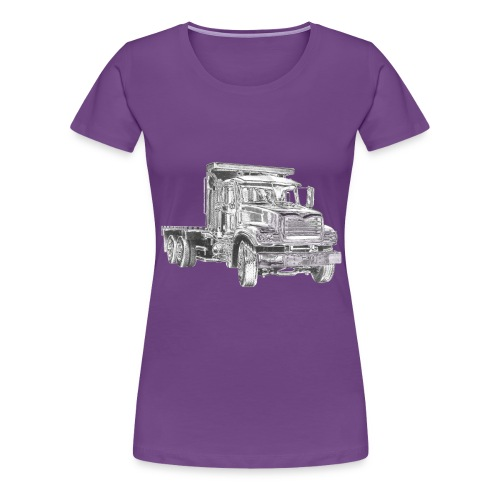 Flatbed Truck - Women's Premium T-Shirt