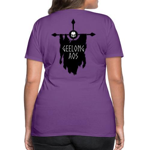 Geelong AOS - DEATH - Women's Premium T-Shirt