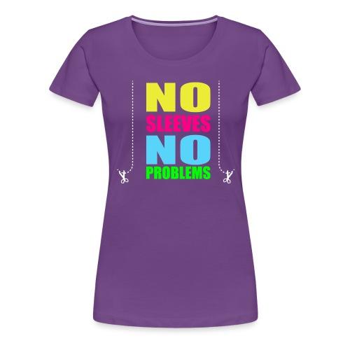 nosleevesneonwhite - Women's Premium T-Shirt