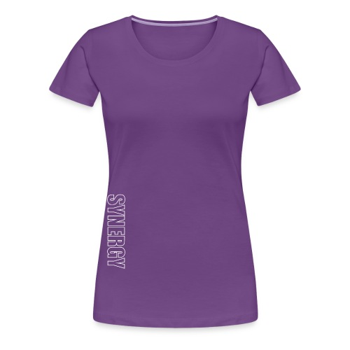OUTLINE synergy white png - Women's Premium T-Shirt
