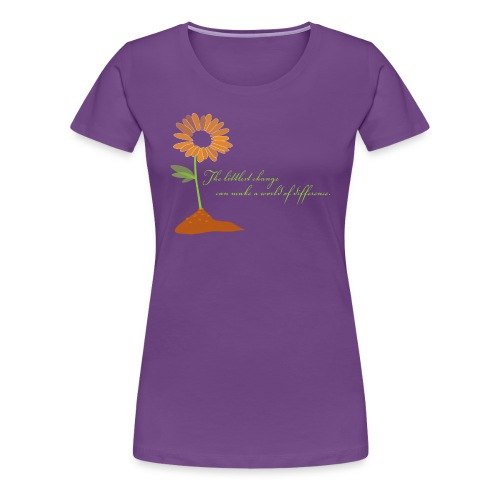 World of Difference - Women's Premium T-Shirt