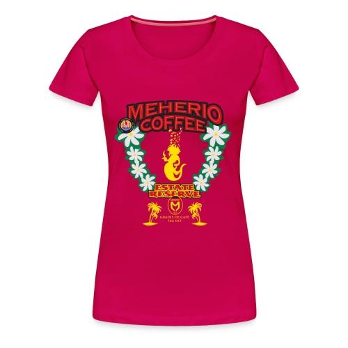 MEHERIO COFFEE - Women's Premium T-Shirt