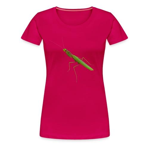 Praying Mantis - Women's Premium T-Shirt