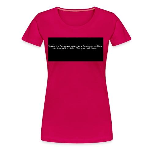 find hope - Women's Premium T-Shirt