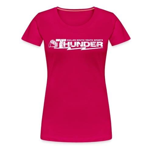 DSYS Cheer Logo Transparent White - Women's Premium T-Shirt