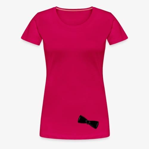 Tuxedo Bowtie - Women's Premium T-Shirt