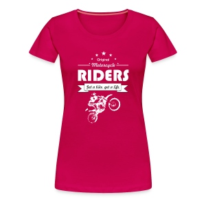BIke Riders - Women's Premium T-Shirt