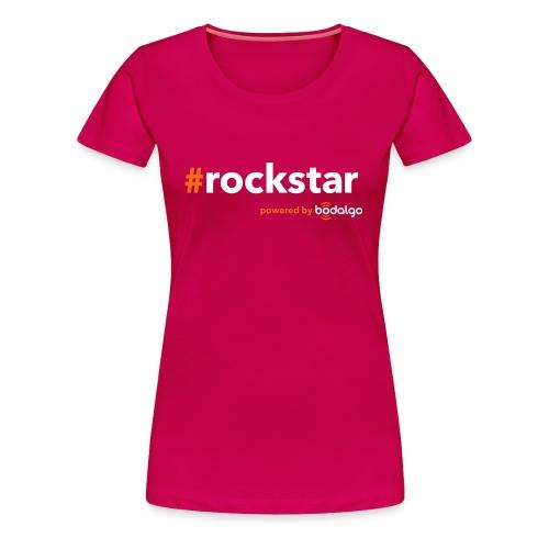 #rockstar - Women's Premium T-Shirt