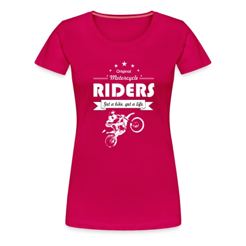 BIke Riders - Women's Premium T-Shirt