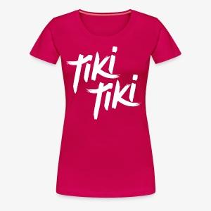 Tiki Tiki logo - Women's Premium T-Shirt