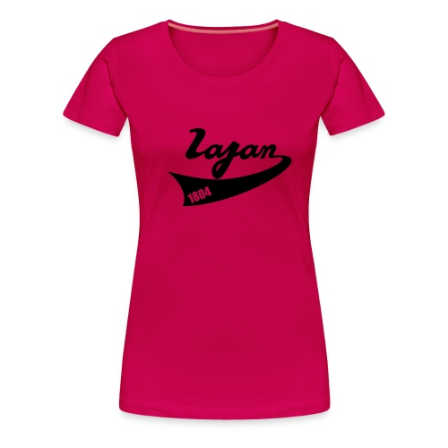 lagan base ball - Women's Premium T-Shirt