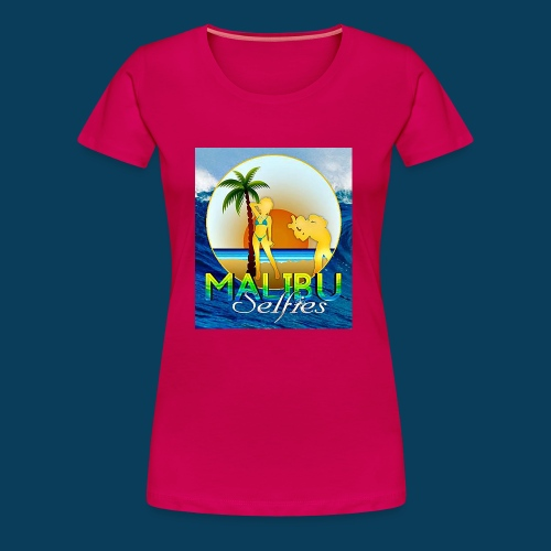 Malibu Selfies - Women's Premium T-Shirt