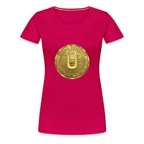 Unity Money - Global Cryptocurrecy - Women's Premium T-Shirt