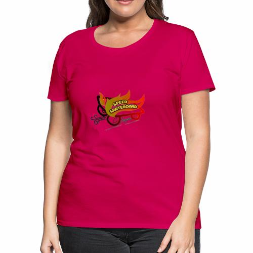 speed skateboard - Women's Premium T-Shirt