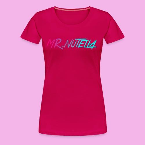 MR.nutella merch - Women's Premium T-Shirt