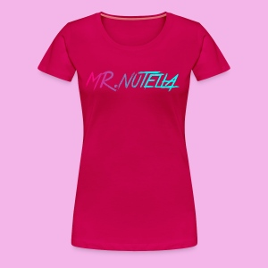 MR.nutella merch - Women's Premium T-Shirt