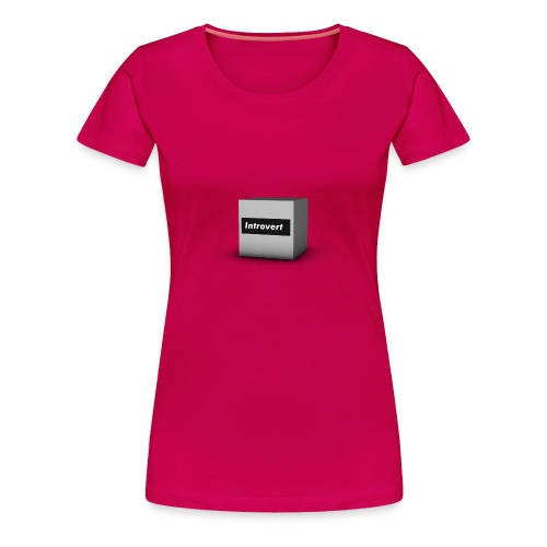 Box Logo - Women's Premium T-Shirt