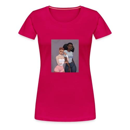 Blaque Luv - Women's Premium T-Shirt