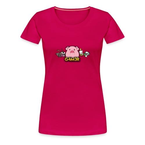 SOLO PARA G4M3RS - Women's Premium T-Shirt