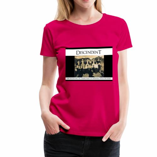 DESENDENT - Women's Premium T-Shirt