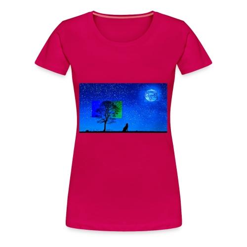 Grabthebar Lone Wolf - Women's Premium T-Shirt