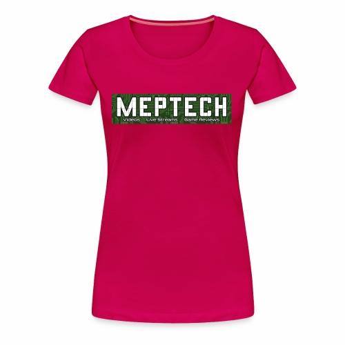 MepTech YTG Logo - Women's Premium T-Shirt