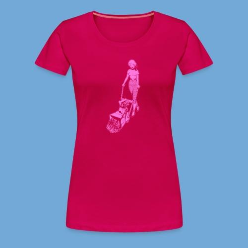 Roto-Hoe pink. - Women's Premium T-Shirt