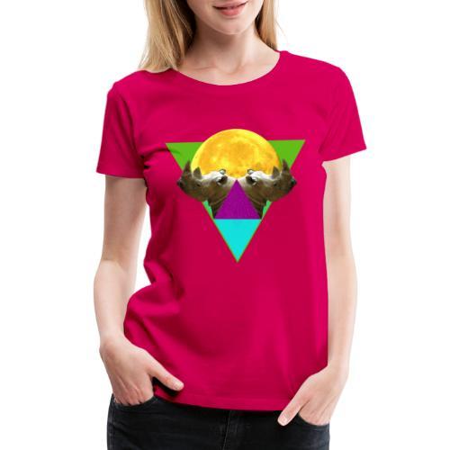 Rhinos Reflection - Women's Premium T-Shirt