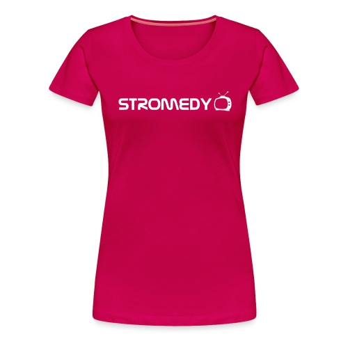 stromedy white black png - Women's Premium T-Shirt