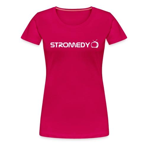 stromedy white black png - Women's Premium T-Shirt