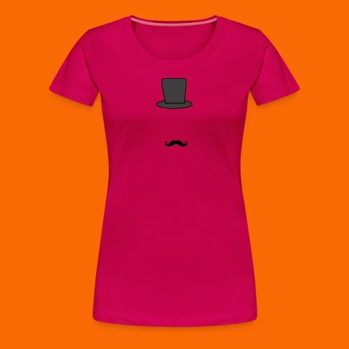 top hat outline clipart clipart panda free clipart - Women's Premium T-Shirt