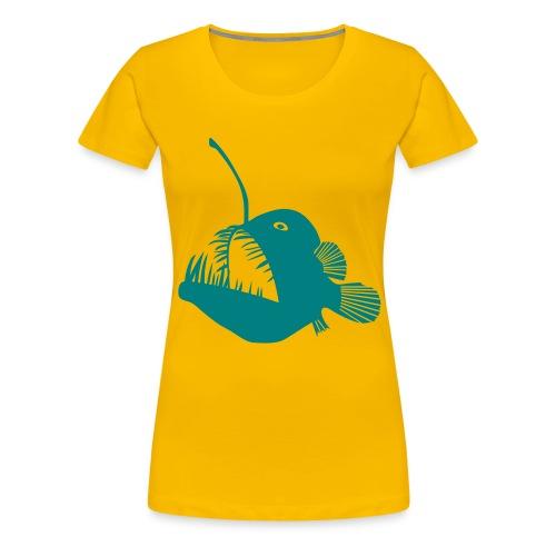 anglerfish frogfish sea devil deep sea angler - Women's Premium T-Shirt